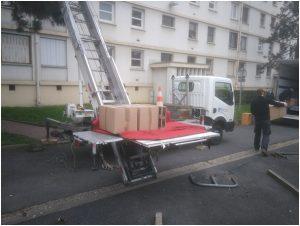 Louer une monte meuble dans le Val d'Oise