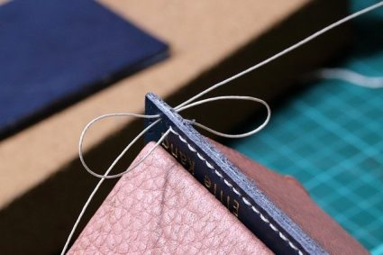 L'art de la couture cuir à la main